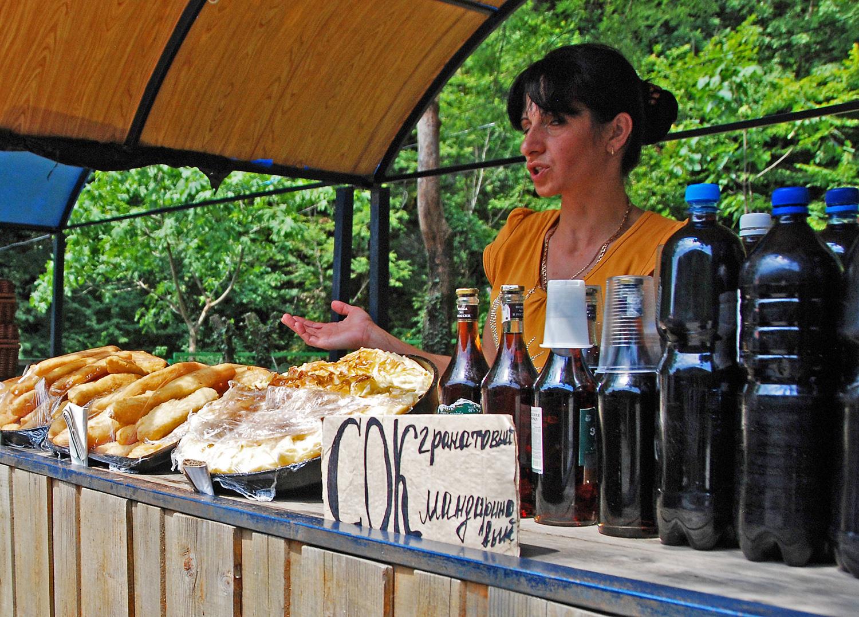 Abkhazia - Food Stall