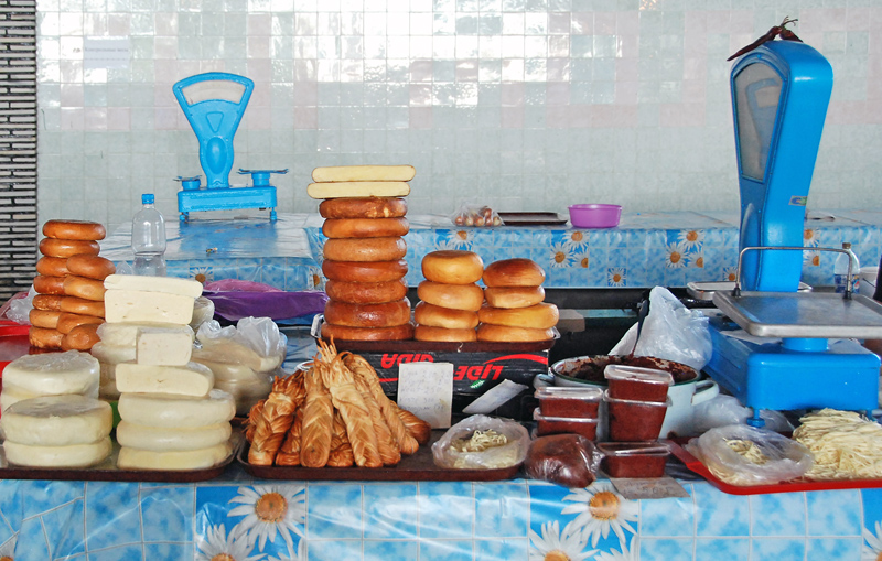 Gagra - Market - Cheese