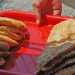 Gagra - Sea Shore Cafe - Buying Chebureks