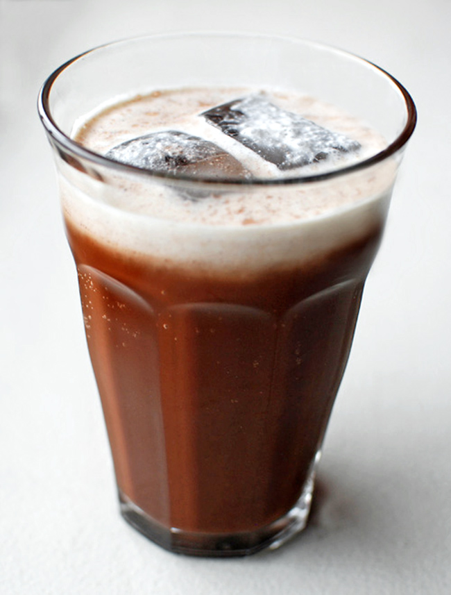 Geogian Food - Chocolate Cream Soda