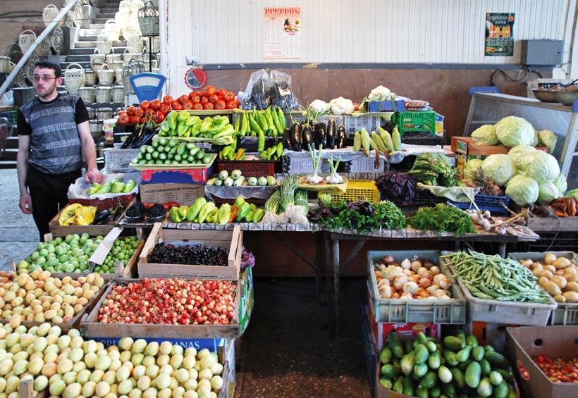 Armenia - Yerevan Market - Produce