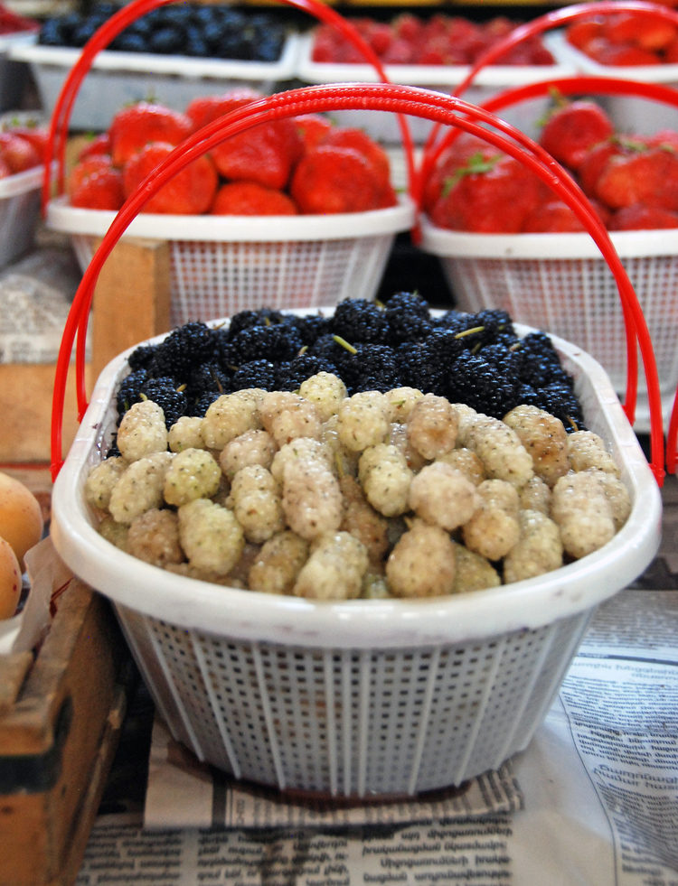 Armenia - Yerevan Market - Fruits