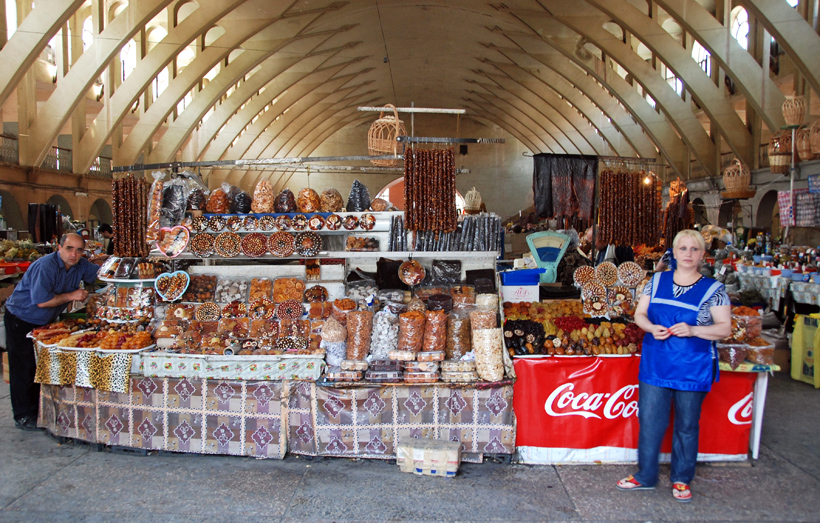 Armenia - Yerevan Market - Dried Fruits