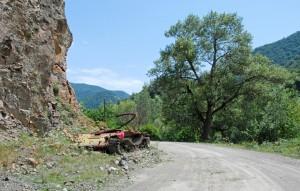 Road to Dadivank - Tank