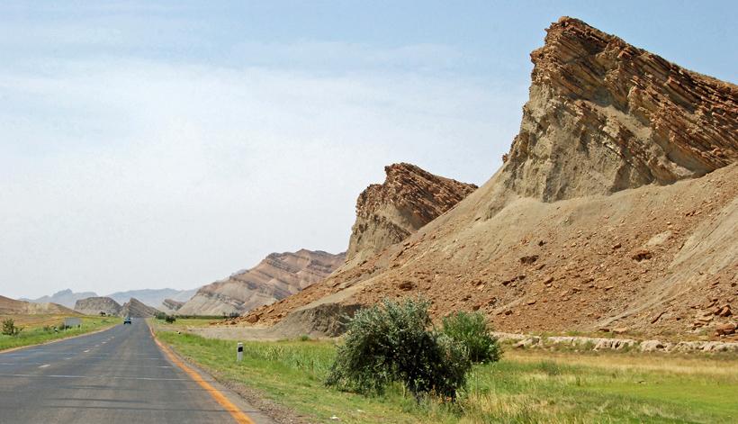 Road to Nakhchivan City
