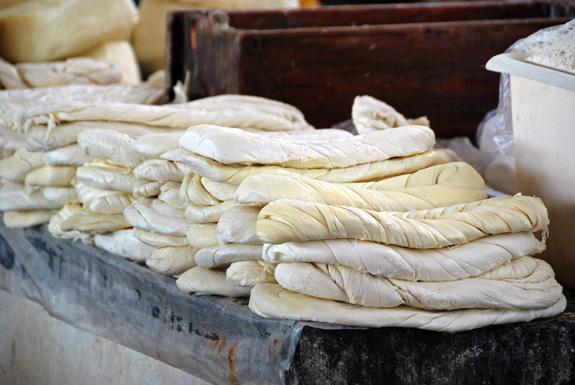 Batumi Central Market - Cheese