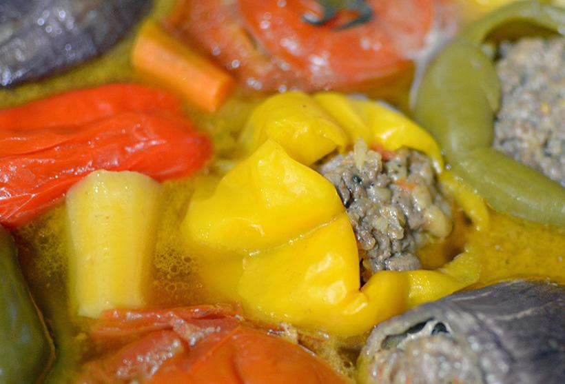 Uzbek Cuisine - Dolma Shurpa