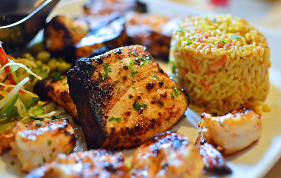 Azeri Cuisine - Baku Palace - Grilled Fish
