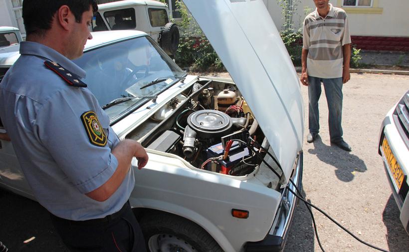 Azerbaijan - Quba - Police Station