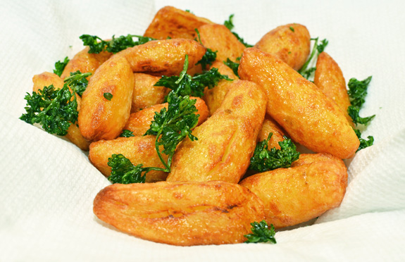Fried Fingerling Potatoes