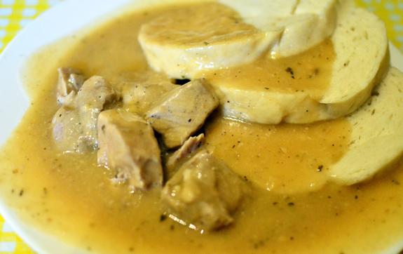 Czech Cuisine - Bohemian Hall - Porkfest Goulash