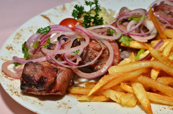 Russian Cuisine - Caspiy - Shashlyk