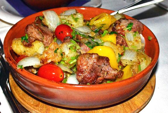 Georgian Cuisine - Pepela - Ochakhuri