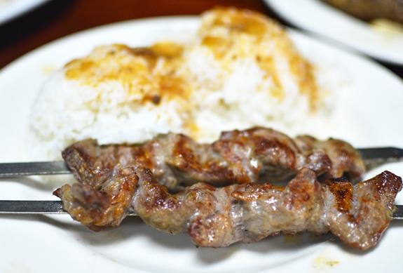 Uzbek Restaurant - Taam Tov - Lamb Kebab
