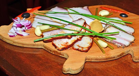 Russian Food - Nasha Rasha - Salo
