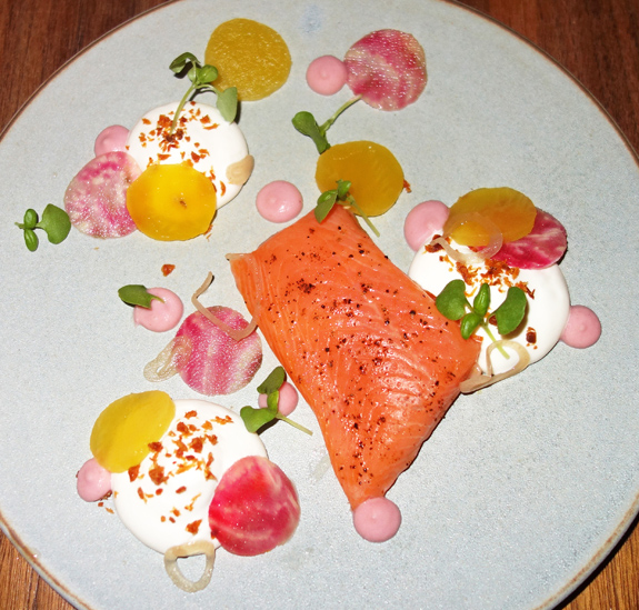 Les 400 Coups - Trout, Yogurt Mousse and Beets