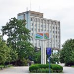 Transnistria - Tiraspol - Train Station Square
