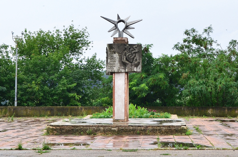 Transnistria - Tiraspol - Power Station Monument