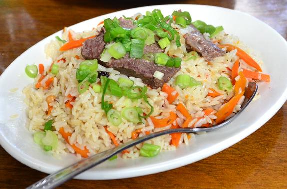 Uzbek Cuisine - Kebeer - Plov