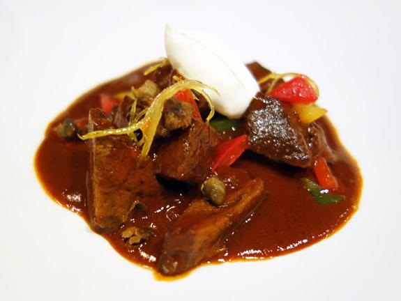 Austrian Cuisine - Seasonal - Veal Cheek Goulash
