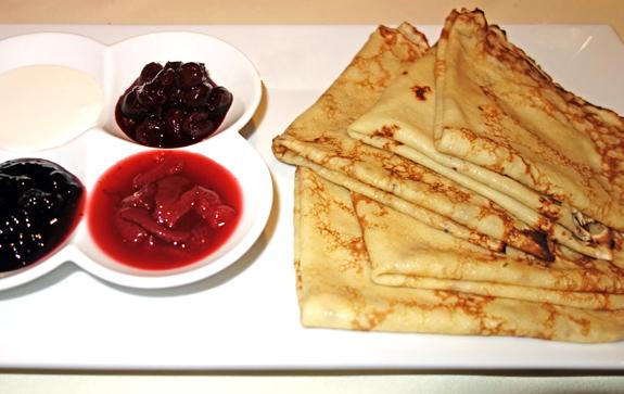 Russian Cuisine - Ariana - Blini