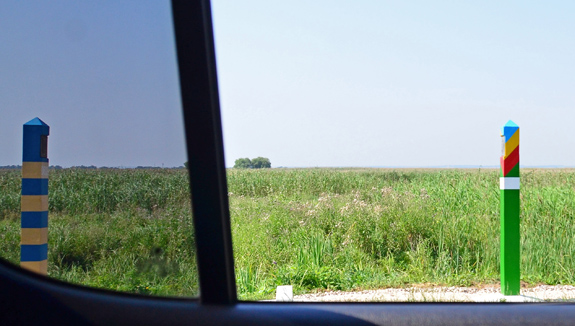 Road to Vylkove - Ukrainian-Romanian Border