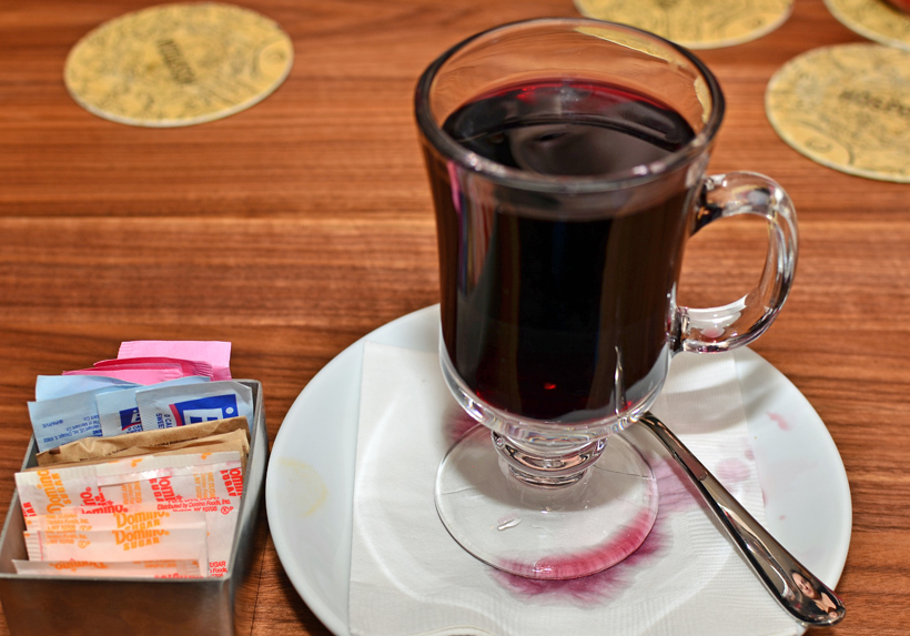 Czech Cuisine - Hospoda - Mulled Wine