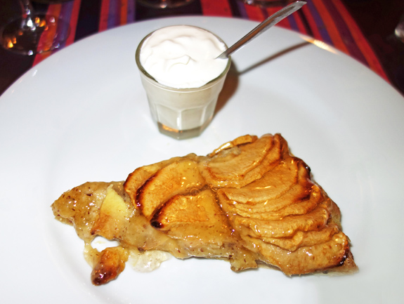 Chez Mademoiselle - Joe's Apple Tart