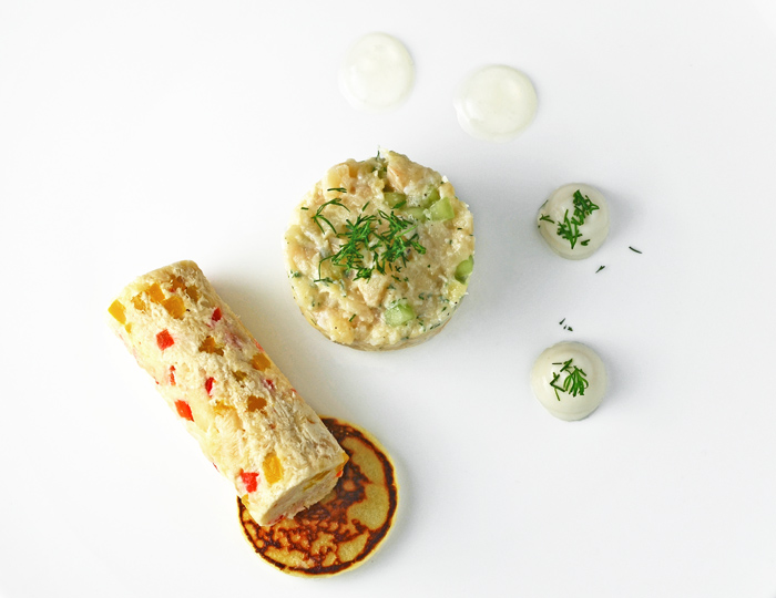 Moravian Trout Rillettes and Tartare