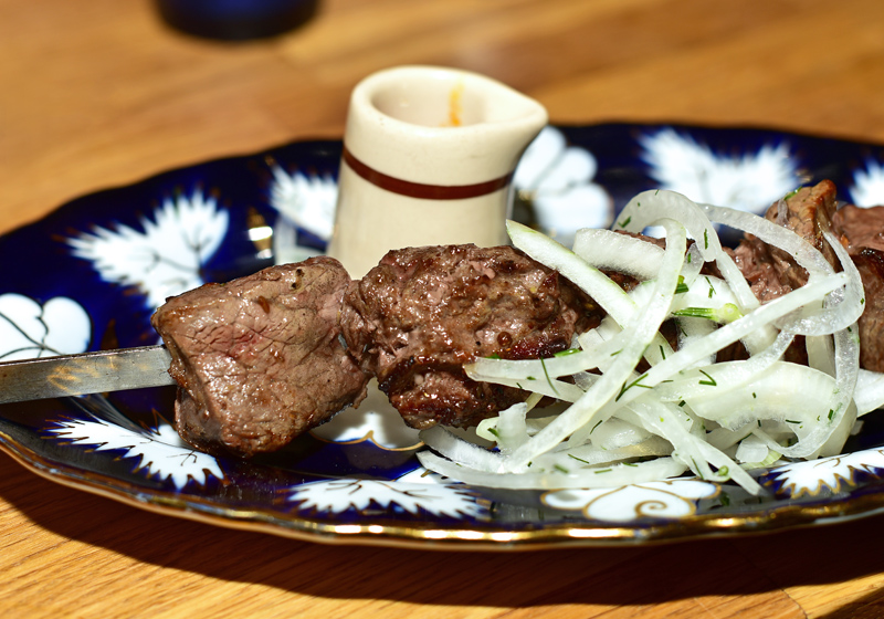 Uzbek Cuisine - Uma's - Filet Mignon Kebab