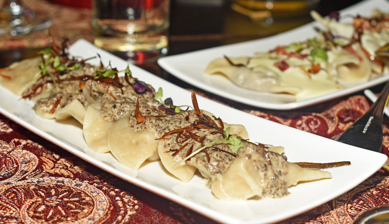 Russian Cuisine - Kapowski's - Mushroom Dumplings
