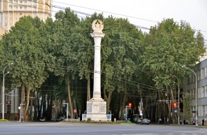 Dushanbe - Soviet Column