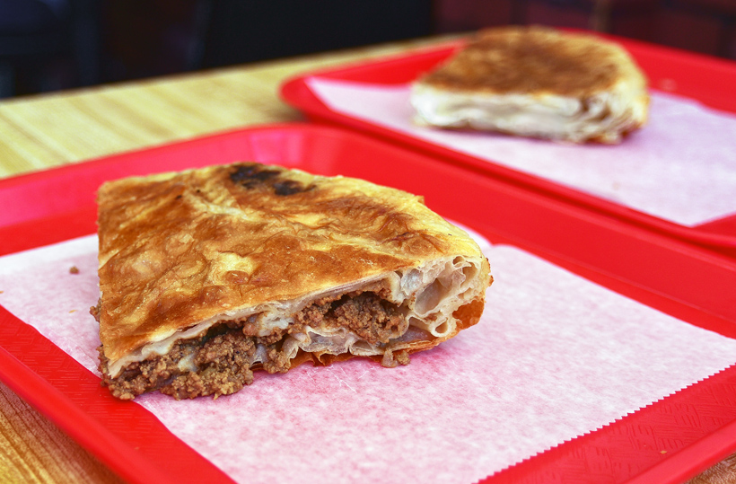 Kosovan Cuisine - Tony and Tina's Pizzeria - Meat Burek