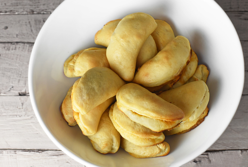 Russian Food - Trout Pirozhki