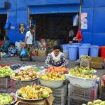 Dushanbe - Shah Mansur Bazaar - Produce