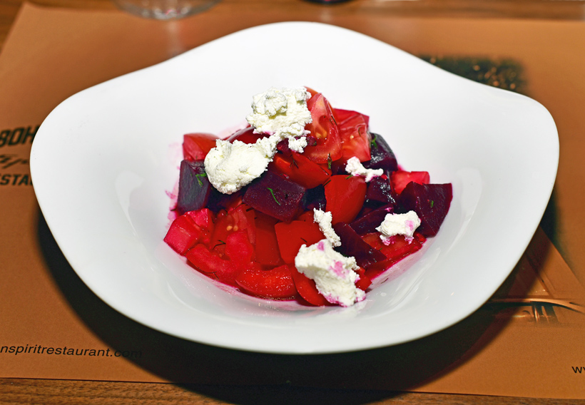 Czech Cuisine - Bohemian Spirit - Roasted Beet Salad with Dill and Farmer Cheese