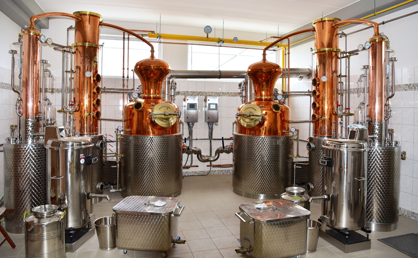 Czech Republic - Žufánek Distillery
