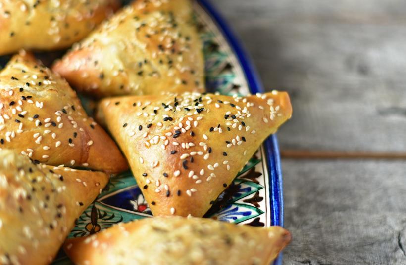 Central Asian Food - Samsas