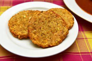 Czech Republic - Moritz Restaurant - Potato Pancakes
