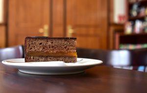 Sopron - Szamos Pastry Shop - Sacher Torta