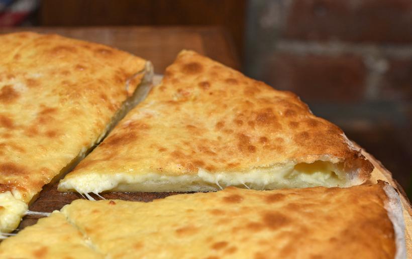 Georgian Cuisine - Cheeseboat - Imeretian Khachapuri