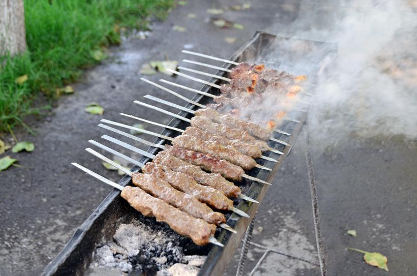 Tashkent - National Food Restaurant - Kebabs