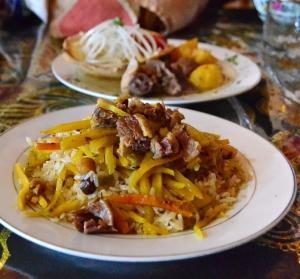 Samarkand - Restaurant Registan - Plov