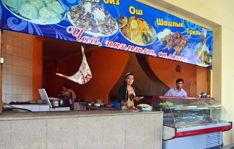 Samarkand - Registan St. - Food Stand