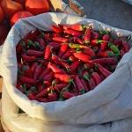Samarkand - Siyob Bazaar - Peppers