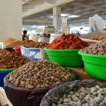 Samarkand - Siyob Bazaar - Dried Fruits and Nuts