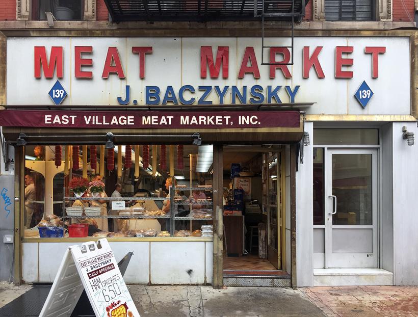 East Village Meat Market, New York