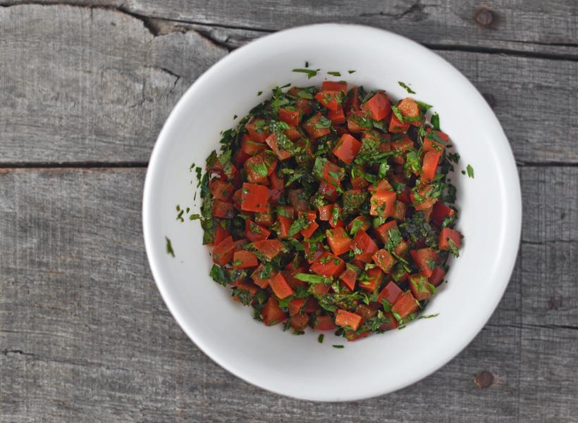 Serbian Food - Morava Salad