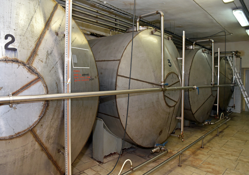 Petrovsky Liquor Factory - Vodka Tanks
