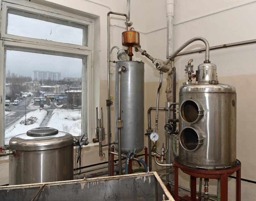 Petrovsky Liquor Factory - Still